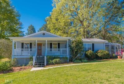 Loganville Single Family Home New: 4309 Shiloh Rd