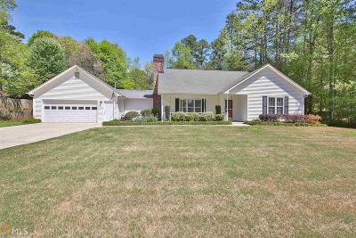 Peachtree City GA Single Family Home Contingent With Kickout: $377,700