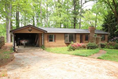 Cumming, Gainesville, Buford, Dawsonville Single Family Home New: 3225 Lakeside Dr