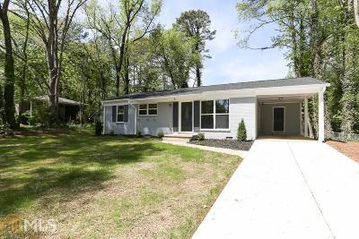 Tucker Single Family Home New: 3748 Sarahs Ln