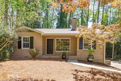 Decatur Single Family Home Under Contract: 1191 Sanden Ferry Dr