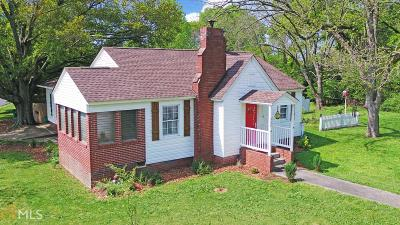 Lavonia Single Family Home Under Contract: 524 Hartwell Rd