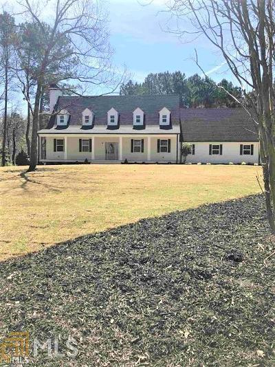 Newnan Single Family Home Under Contract: 738 Roscoe Rd