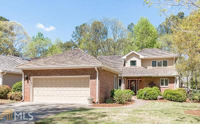 Roswell Single Family Home Under Contract: 2600 Camden Glen Ct