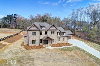 Buford Single Family Home New: 3020 Wallace Rd