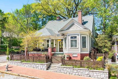 Atlanta Single Family Home Under Contract: 388 Augusta Ave