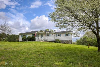Jasper Single Family Home Under Contract: 339 Thrasher Ln