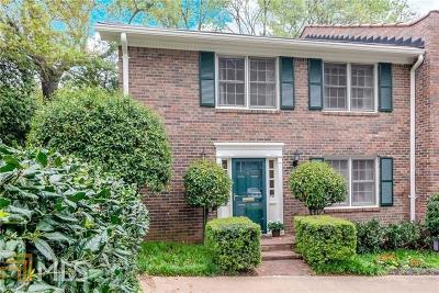 Decatur Condo/Townhouse Under Contract: 1105 Clairemont Ave #R