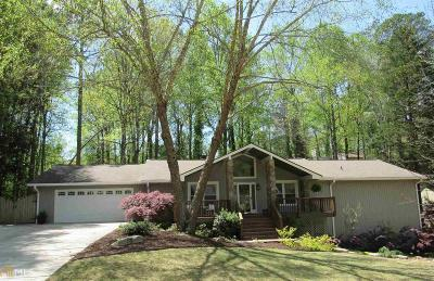 Marietta Single Family Home Under Contract: 5244 Deering Trl