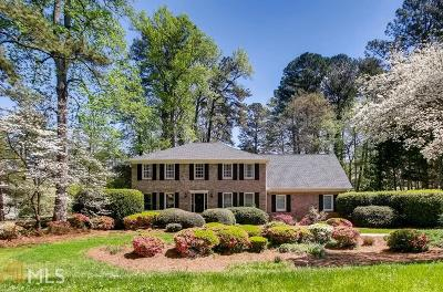 Roswell Single Family Home Under Contract: 2480 Roxburgh Dr