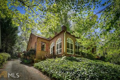 Druid Hills Single Family Home New: 1681 E Clifton Rd