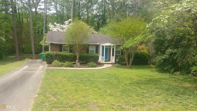 Tucker Single Family Home Under Contract: 1868 Robinhill Ct