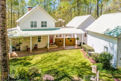 Dawsonville Single Family Home New: 7850 Silver Creek Rd