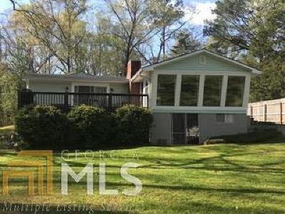 Buckhead, Eatonton, Milledgeville Single Family Home Under Contract: 153 Little Riverview Rd #3