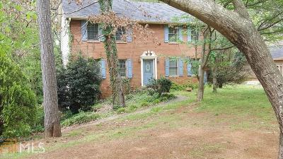 Rockdale County Single Family Home Under Contract: 1512 Hillside Dr