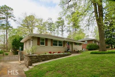 Cobb County Single Family Home Under Contract: 3716 Alpine Dr