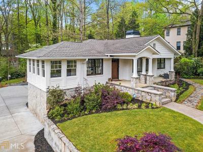 Smyrna Single Family Home New: 3370 Lee St