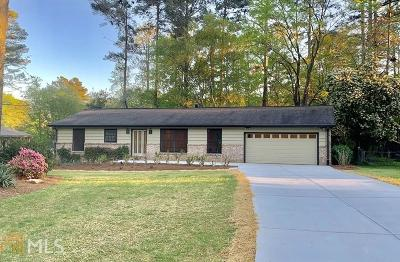 Tucker Single Family Home Under Contract: 4323 Darwen Ct