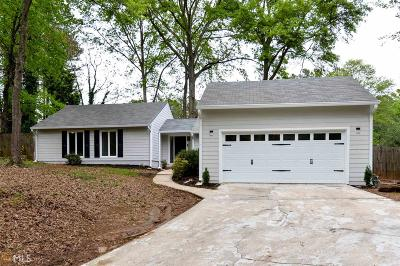 Marietta Single Family Home New: 2187 Kinridge Rd