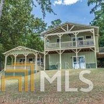 Milledgeville, Sparta, Eatonton Single Family Home For Sale: 267 NE Power Point Rd #126
