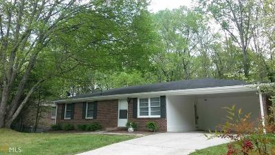 Douglasville Single Family Home Under Contract: 3795 Paul St