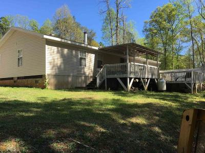Stephens County Single Family Home Under Contract: 1090 Lakeside Trl