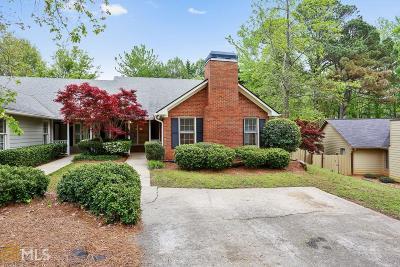 Smyrna Single Family Home Under Contract: 4053 Cooper Ridge Ct