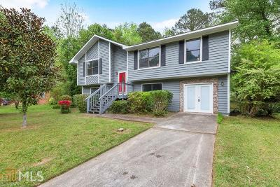 Clayton County Single Family Home Under Contract: 8392 Beechwood Trce