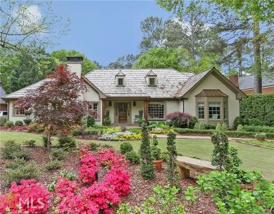 Johns Creek Single Family Home Under Contract: 110 River Hollow Ct