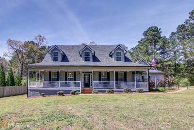 Social Circle Single Family Home Under Contract: 3635 Cox Cemetery Rd