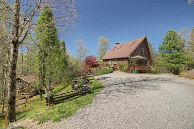 Rabun County Single Family Home For Sale: 595 Lookout Ridge Rd