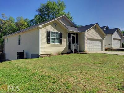 Dawsonville Single Family Home Under Contract: 86 Angela Ln