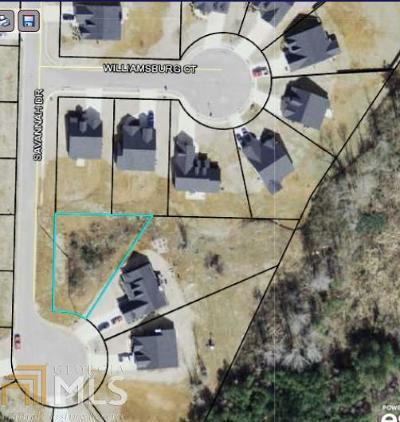Villa Rica Residential Lots & Land New: 614 Savannah Dr