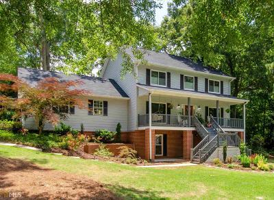 Newnan Single Family Home Under Contract: 7 Pine Knoll St