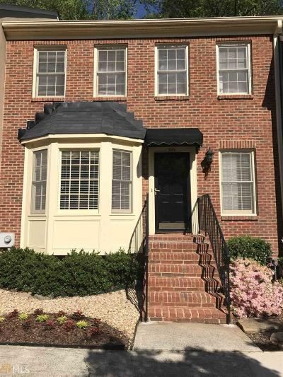Marietta Condo/Townhouse Under Contract: 596 Saint James