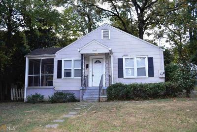 East Point Single Family Home New: 1338 Elizabeth Ln