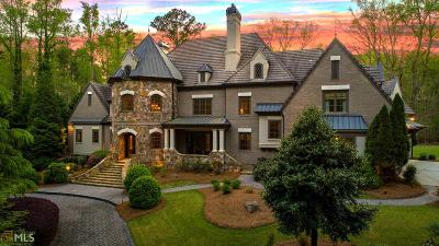 Johns Creek Single Family Home For Sale: 10850 Bell Rd