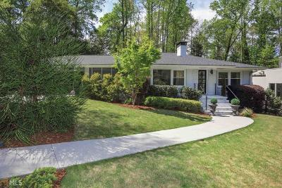 Atlanta Single Family Home New: 1296 Brook Forest Dr
