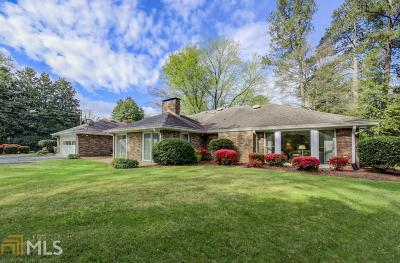 Sandy Springs Single Family Home Under Contract: 5750 Riverwood Dr