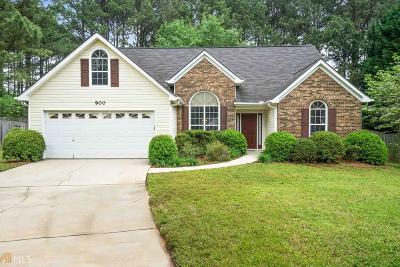 McDonough Single Family Home Under Contract: 900 Arbor Way