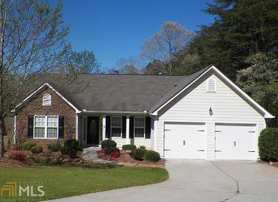 Dawsonville Single Family Home Under Contract: 172 Aplomado Ln W