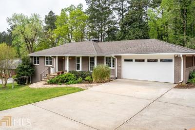Sandy Springs Single Family Home New: 6420 Bridgewood Valley Rd