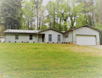 Douglasville Single Family Home New: 6370 Shallowford