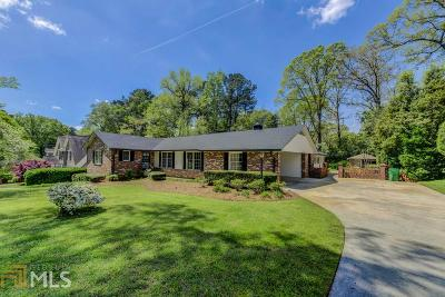Decatur Single Family Home Under Contract: 1364 Altamont Dr