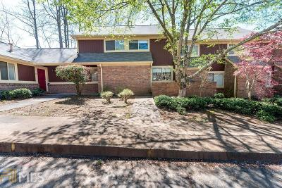 Alpharetta Condo/Townhouse Under Contract: 70 Country Place Ct