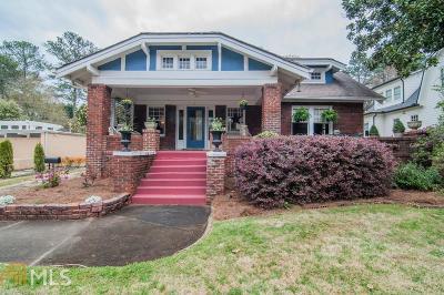 Avondale Estates Single Family Home New: 6 Kensington Rd