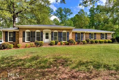Douglasville Single Family Home Under Contract: 3743 Chattahoochee Dr