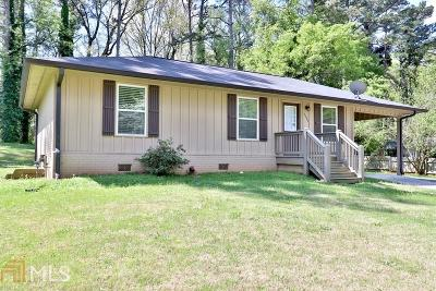 Kennesaw GA Single Family Home Under Contract: $165,000