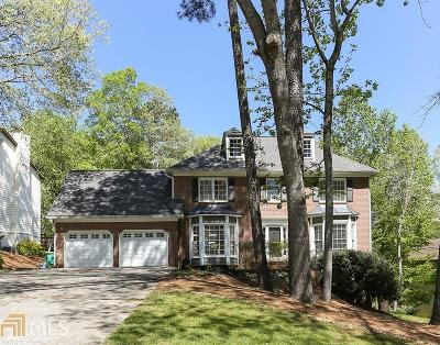 Roswell Single Family Home Under Contract: 2687 Long Lake Dr
