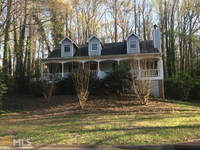Marietta Single Family Home Under Contract: 2568 N Arbor Trl